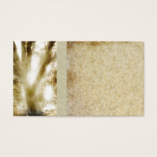 Grunge,Rustic,Natural Tree Business Cards
