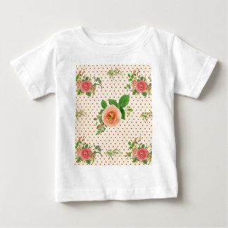 Grunge,rustic,vintage,floral,coral,victorian,girly Infant T-Shirt