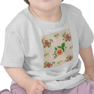 Grunge,rustic,vintage,floral,coral,victorian,girly T Shirt
