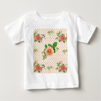 Grunge,rustic,vintage,floral,coral,victorian,girly Shirt