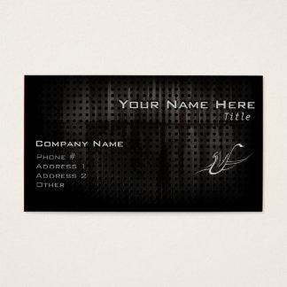 Grunge Saxophone Business Card