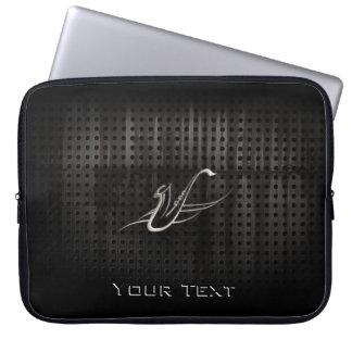 Grunge Saxophone Laptop Sleeve