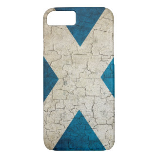 Grunge Scotland flag iPhone 8/7 Case