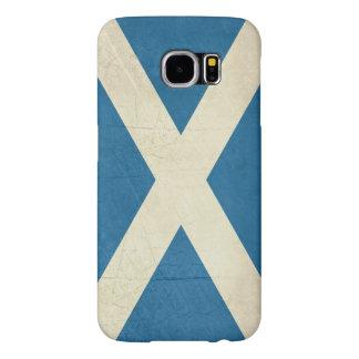 Grunge Scottish Flag Illustration Samsung Galaxy S6 Cases