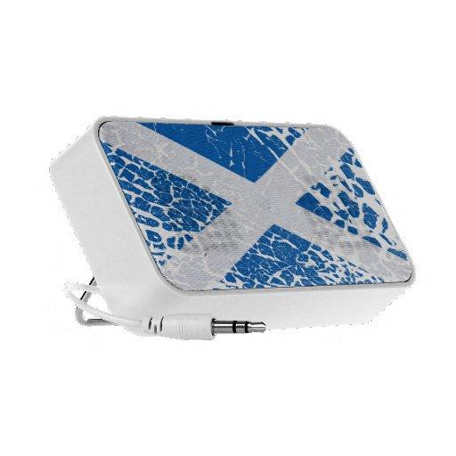 Grunge Scottish Flag Speakers