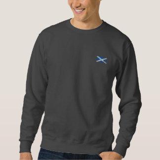 Grunge Scottish Flag Sweatshirt