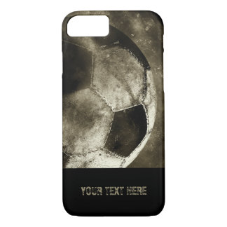 Grunge Sepia Soccer Ball | Cool Gifts iPhone 8/7 Case