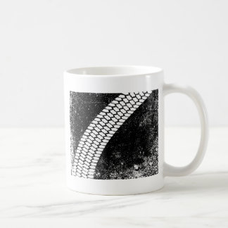 Grunge Skid Mark Coffee Mug