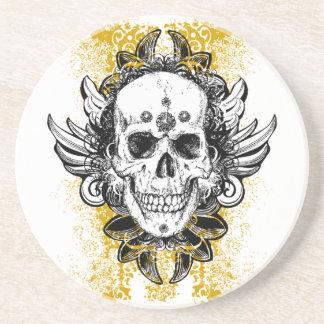 Grunge Skull Coaster