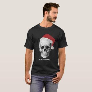 Grunge Skull Santa T-Shirt
