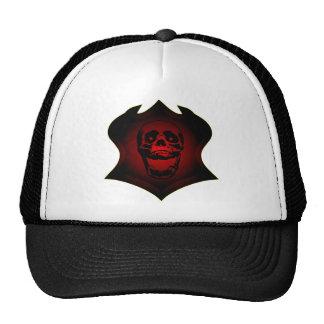 Grunge Skull Tattoo & Shield Hats