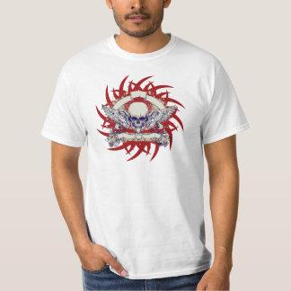 Grunge Skull Tee Shirt