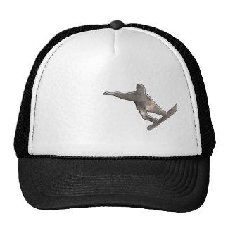 Grunge Snowboarding Trucker Hat