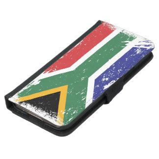 Grunge South Africa Flag Samsung Galaxy S5 Wallet Case