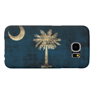 Grunge South Carolina Flag Samsung Galaxy S6 Cases