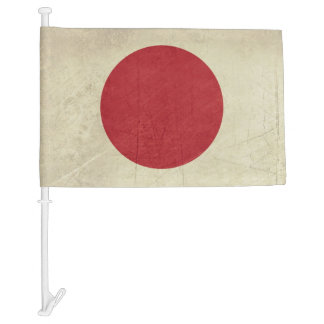 Grunge sovereign state flag of country of Japan