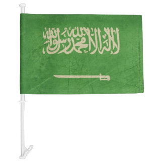 Grunge sovereign state flag of Saudi Arabia