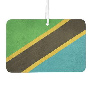 Grunge Sovereign state flag of Tanzania Car Air Freshener