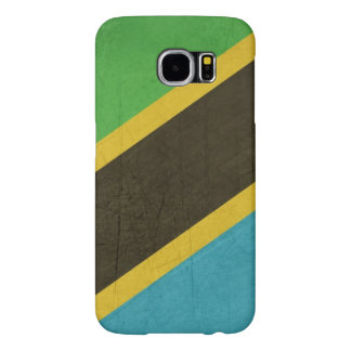 Grunge Sovereign state flag of Tanzania Samsung Galaxy S6 Cases