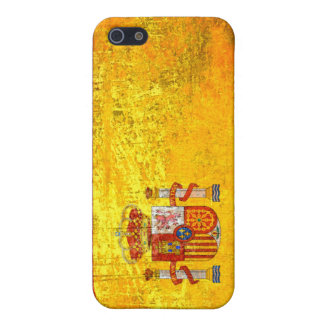 Grunge Spain flag iPhone 5 Case
