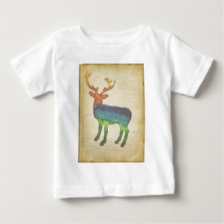 Grunge Stag Baby T-Shirt