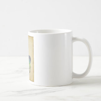 Grunge Stag Coffee Mug