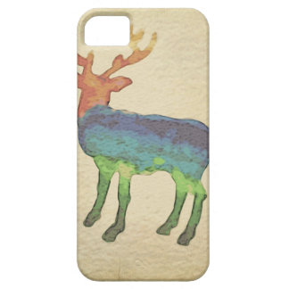 Grunge Stag iPhone 5 Covers