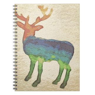 Grunge Stag Notebooks