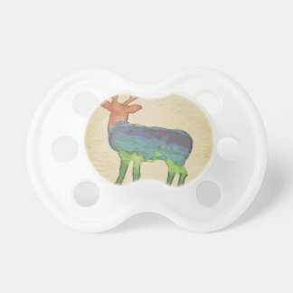 Grunge Stag Pacifier