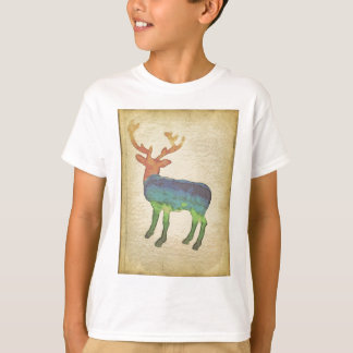 Grunge Stag T-Shirt