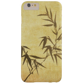Grunge Stained Bamboo Paper Background Barely There iPhone 6 Plus Case
