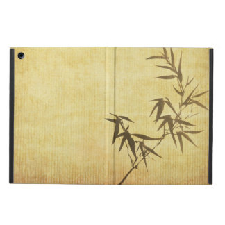 Grunge Stained Bamboo Paper Background Cover For iPad Air