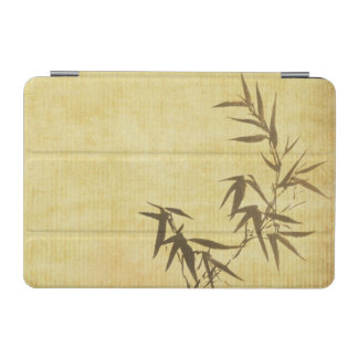 Grunge Stained Bamboo Paper Background iPad Mini Cover