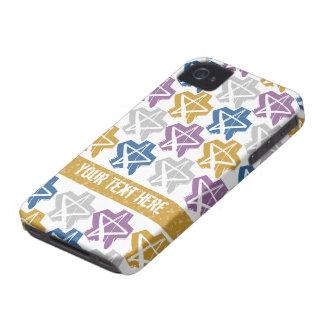 Grunge Stars custom Blackberry Bold case