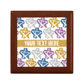 Grunge Stars custom gift / jewelry / trinket box