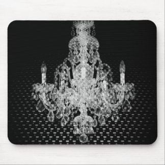 Grunge Steampunk Gothic Rustic Chandelier Mouse Pad