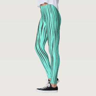 Grunge Striped Leggings