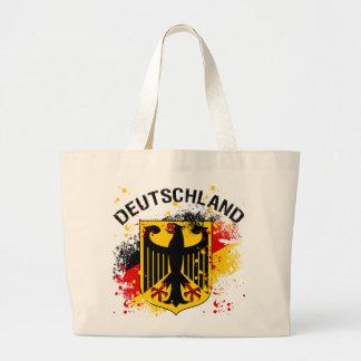 Grunge style Deutschland - Germany Design Large Tote Bag