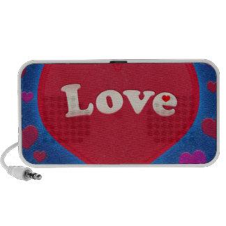 Grunge Style Love Theme Travel Speaker