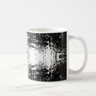 Grunge Style Monochrome Abstract. Coffee Mug