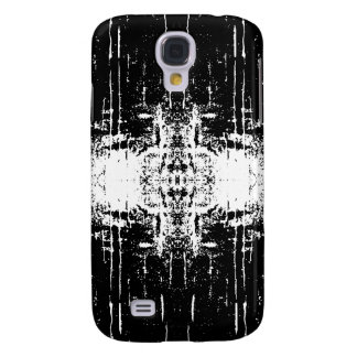 Grunge Style Monochrome Abstract. Galaxy S4 Case