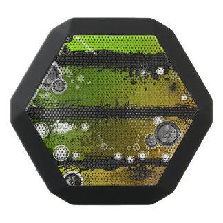 Grunge Style Music Banner Black Bluetooth Speaker