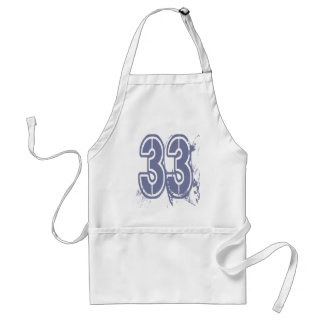 GRUNGE STYLE NUMBER 33 ADULT APRON