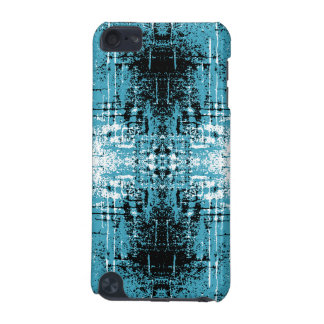 Grunge Style Teal Abstract. iPod Touch (5th Generation) Case