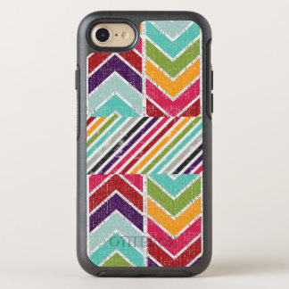 Grunge-style Tribal Color Arrows Hipster OtterBox Symmetry iPhone 7 Case