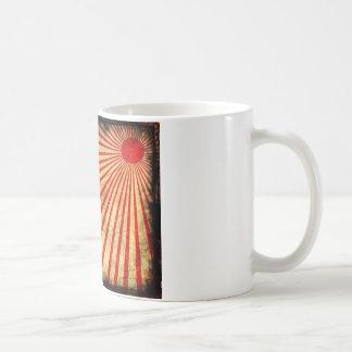 Grunge sun. coffee mug