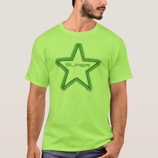 Grunge Superstar Men's Shirt, Forest Green T-Shirt