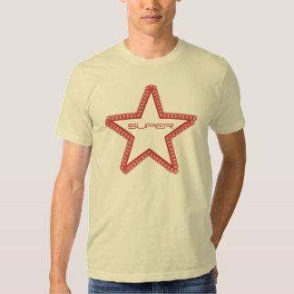 Grunge Superstar Men's Shirt, Red Shirts