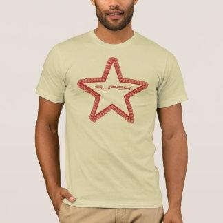 Grunge Superstar Men's Shirt, Red T-Shirt