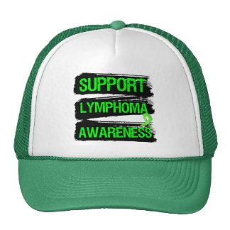 Grunge - Support Lymphoma Awareness Trucker Hats